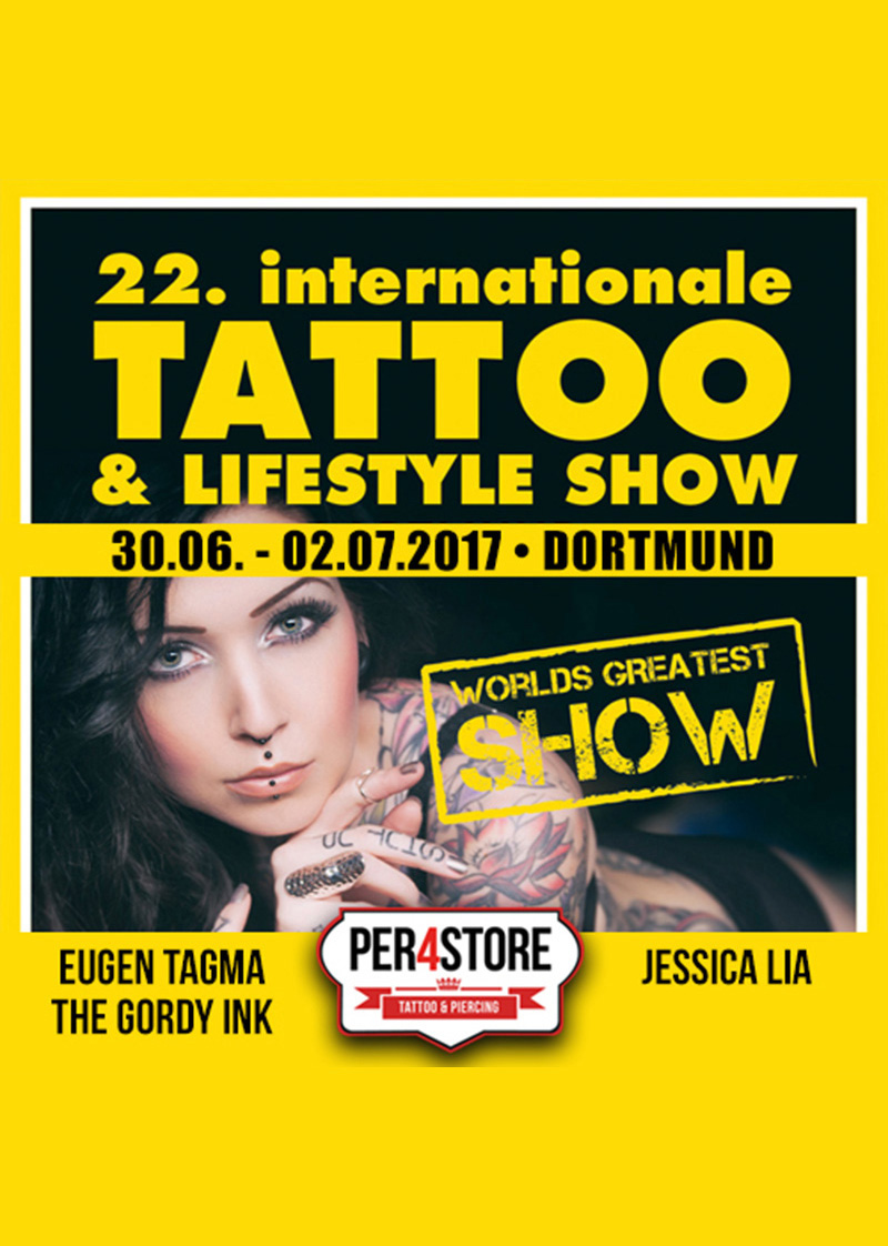 Dortmund Tattoo Convention 2017