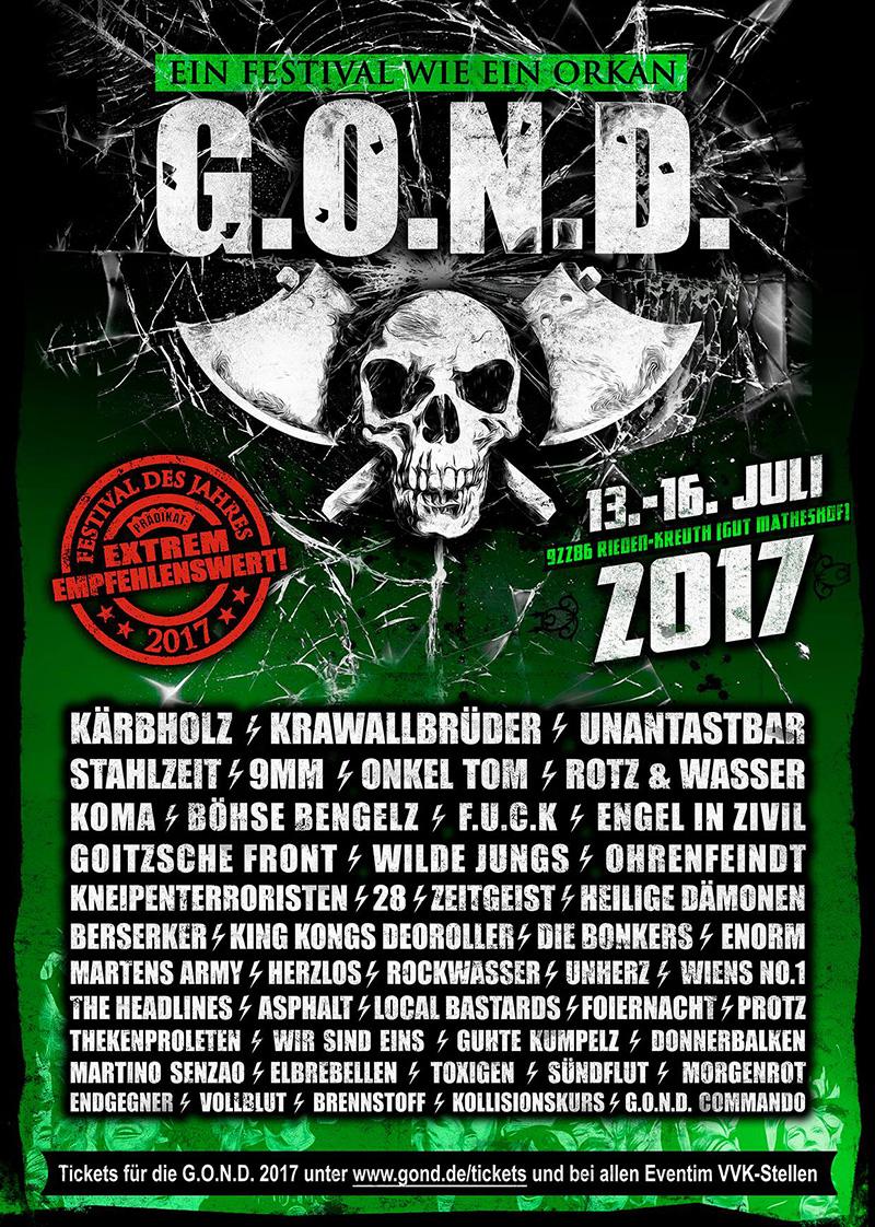 G.O.N.D. Festival 2017
