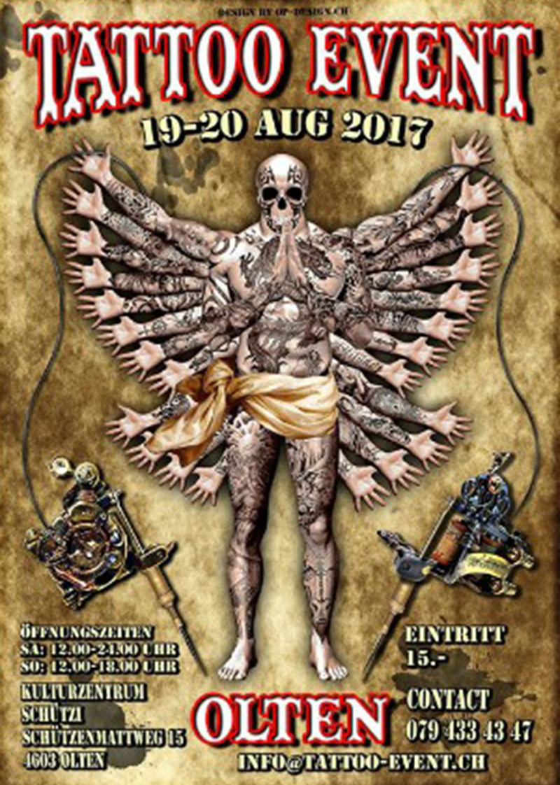 Olten Tattoo Convention 2017