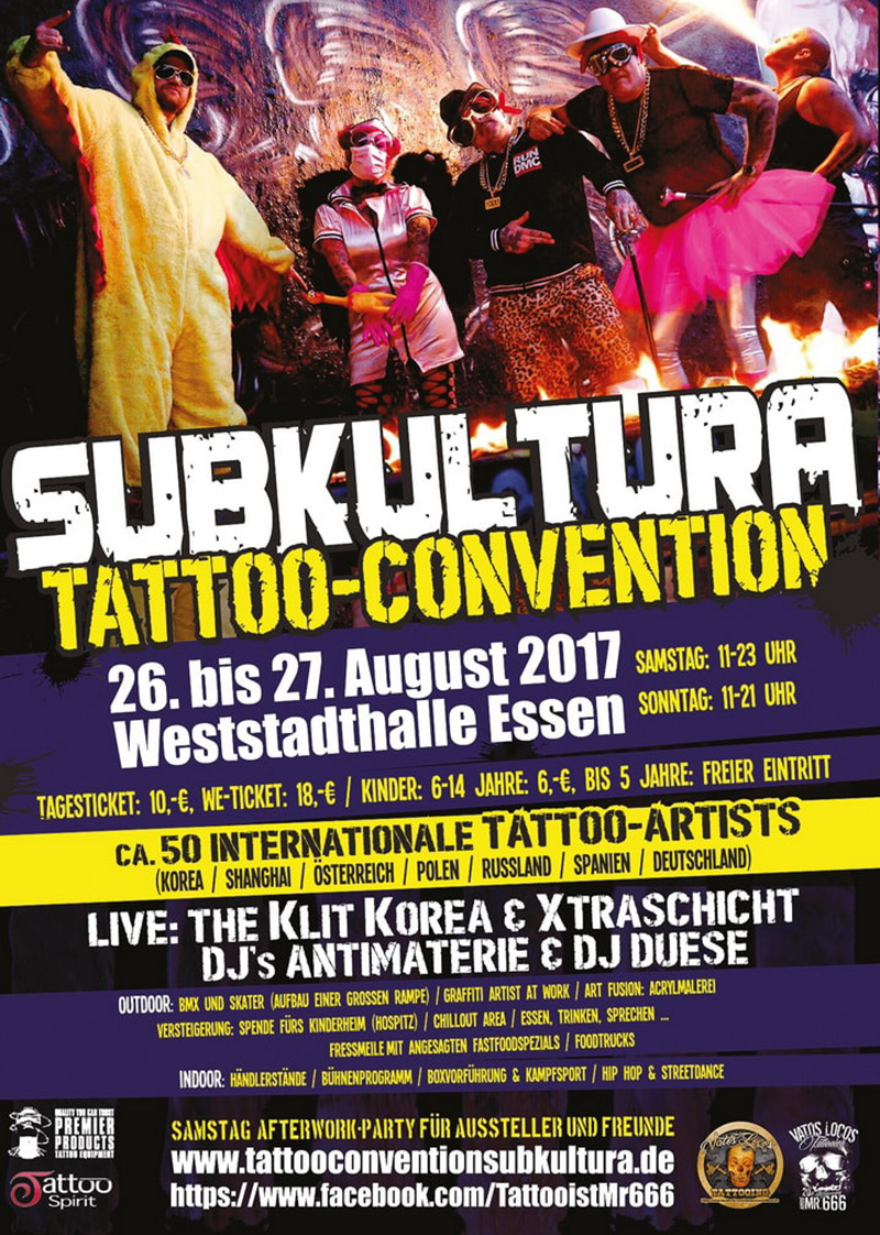 Subkultura Tattoo Convention 2017